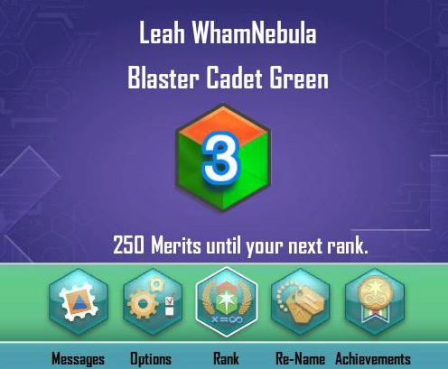 Cadet Level