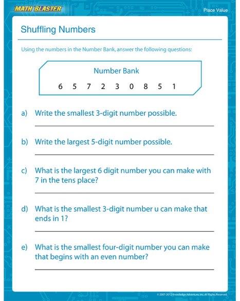 shuffling-numbers