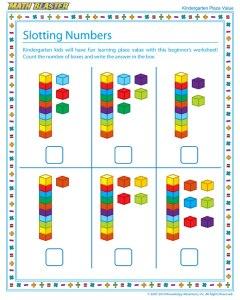 slotting-numbers