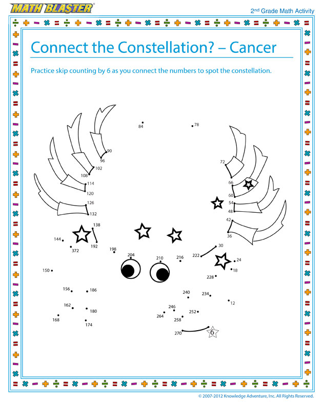 Free Worksheet – Constellations Worksheets