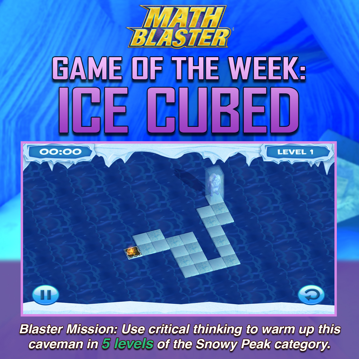 Workbooks math blaster worksheets : Ice Cubed | The Math Blaster Blog