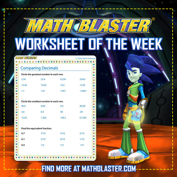 The Math Blaster Blog The Math Blaster Blog \u2013 Space Secrets And Monster High Worksheets To Print The Math Blaster Blog The Math Blaster Blog \u2013 Space Secrets And Sneak Peeks